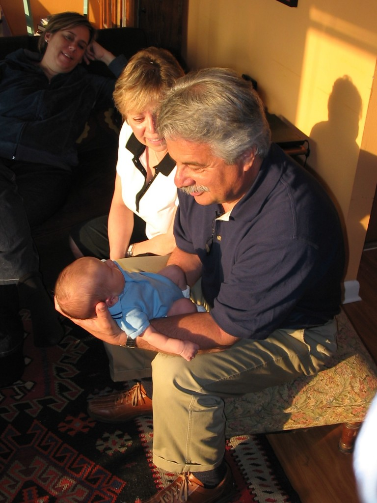 Dad Holding Jakob
