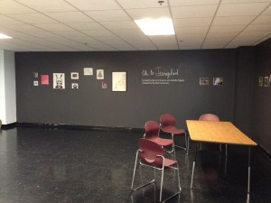 Gallery Space created by Isabella and Bernicia